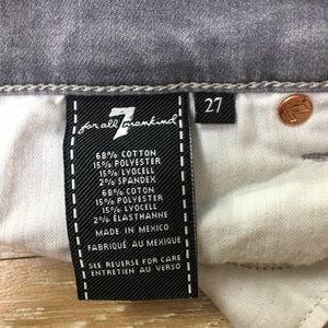 7 For All Mankind Jeans - 7 for all mankind gwenevere size 27 gray